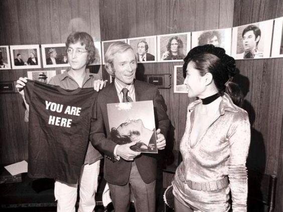 John Lennon YOU ARE HERE T-shirt.  PYGear.com