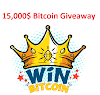 15000$ Bitcoin Giveaway and 1000 Captain Token