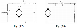 Speed Control of D.C. Series Shunt Motors ,armature diverter