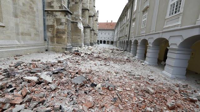 Újabb földrengések voltak Zágrábban