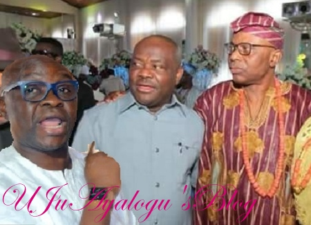 2019 EXCLUSIVE: Cold War Brews As Gov. Wike Dumps Fayose For Mimiko As PDP VP Candidate, Says Ekiti Gov. Not Marketable