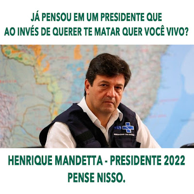 HENRIQUE MANDETTA PRESIDENTE 2022