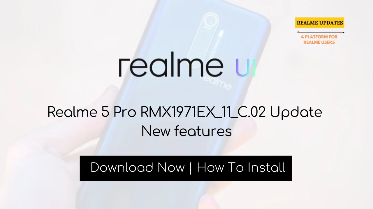 Realme 3 Pro February 2020 Security Patch Update Adds WiFi Calling Feature (VoWiFi) [RMX1851EX_11.C.03] - Realme Updates