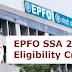 EPFO SSA Eligibility Criteria 2019 - Check Here Educational Qualification & Age Limit