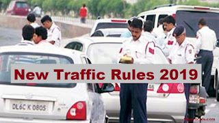 Fines as per new traffic rules 2019