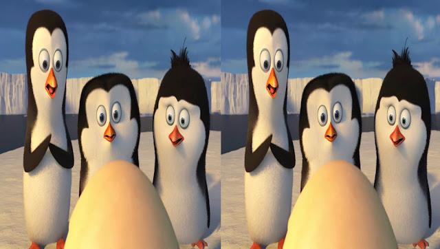 Los Pingüinos de Madagascar 3D SBS Latino