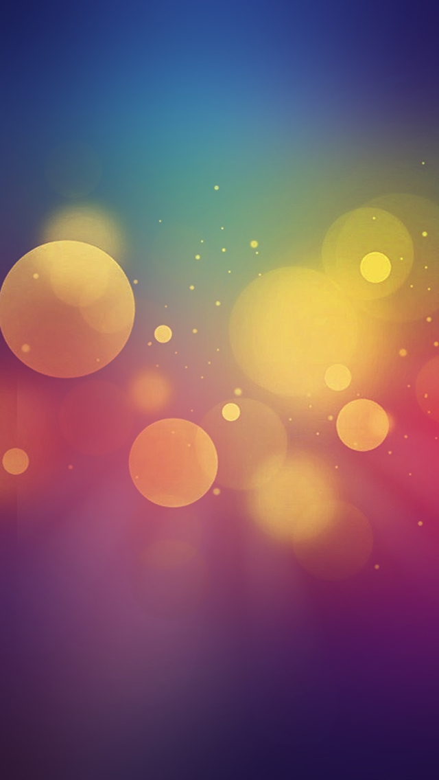Free Wallpaper Phone: Bokeh Wallpaper iPhone SE