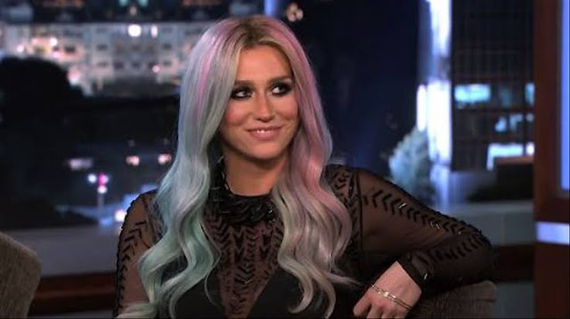 Kesha no programa Jimmy Kimmel Live/ABC/Reprodução