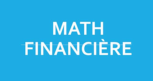 Cours Math Financière