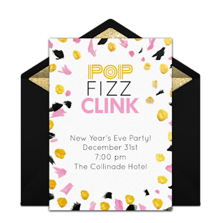 2020 new years eve party invitation