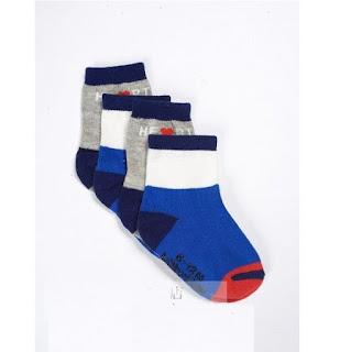Gap Baby boy infant sock size 6-12 months NEW 2 pairs set