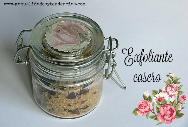 Exfoliante corporal natural casero