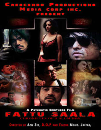 Poster Of Fattu Saala 2015 Hindi 300MB HDRip 480p Watch Online Free Download downloadhub.in