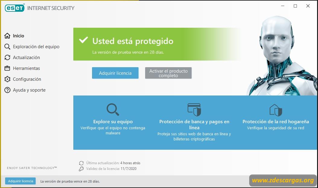 ESET Internet Security Full con licencia permanente