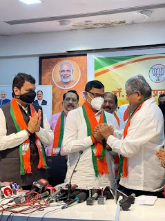 भाजपा सदस्य से प्रदेश उपाध्यक्ष बने कृपाशंकर सिंह | #NayaSaberaNetwork