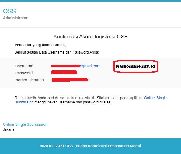 Password login OSS