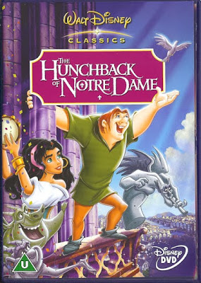 Hunchback of Notre Dame poster Disney movie animatedfilmreviews.filminspector.com