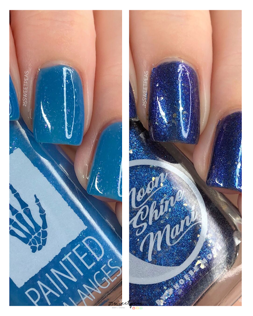 Painted Phalanges + Moon Shine Mani Office-ism Part 2