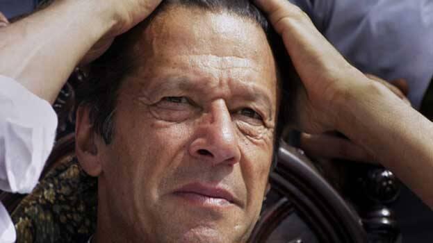 Google show on searching bikhari the image of imran khan