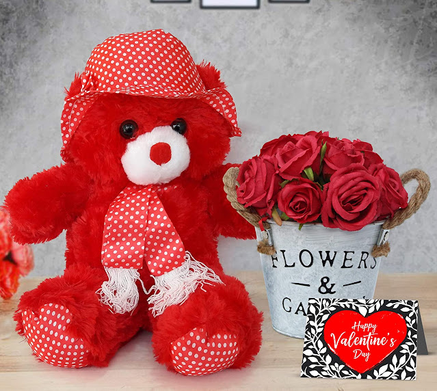Teddy And Greeting Card