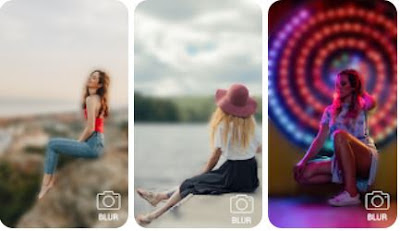 Aplikasi Video Bokeh Indo Bokeh Defocus Background Camera