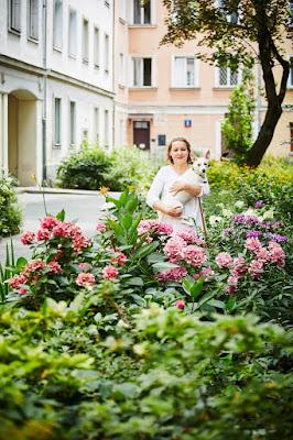 Warszawa w kwiatach i zieleni, ogród przydomowy