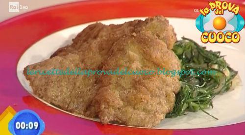 Impanata di manzo con agretti saltati ricetta Bertol da Prova del Cuoco