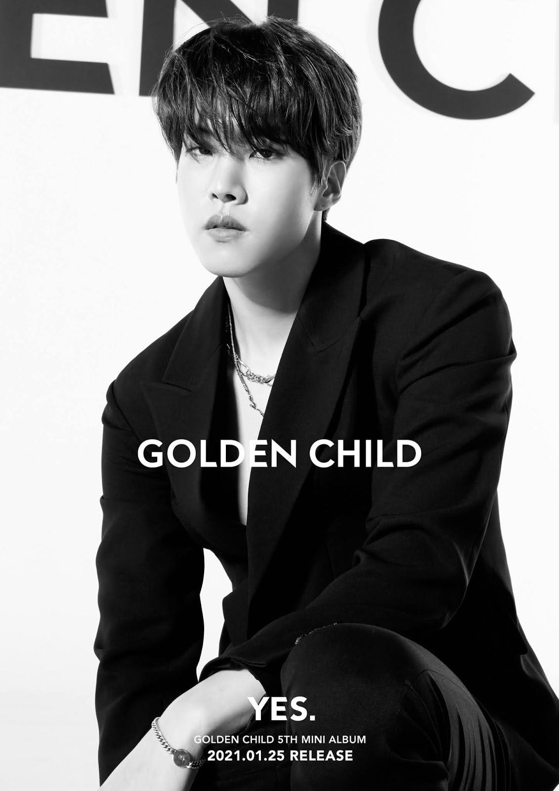 golden child yes comeback dayeol