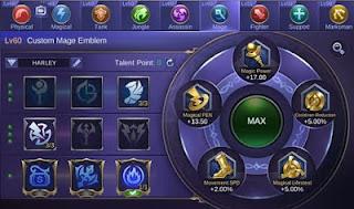 emblem Silvanna Mobile Legends