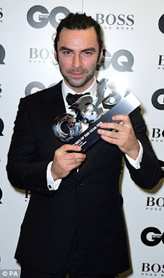 Aidan Turner, GQ Awards, TV Actor of the Year 2016