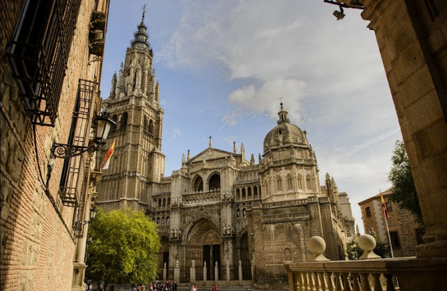 Katedral Toledo Dulunya Masjid Agung Toledo