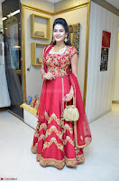 Jenny Honey in Stunning Dark Red Anarkali Dress at Splurge   Divalicious curtain raiser ~ Exclusive Celebrities Galleries 039.JPG