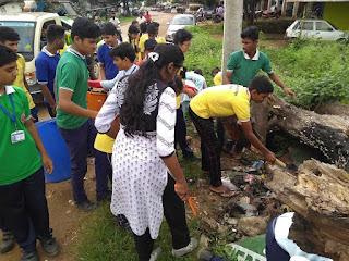 माडल स्कूल बिरसा में मनाया गया स्वच्छता ही सेवा दिवस