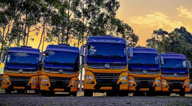 Morada Logística adquire 30 caminhões extrapesados Volkswagen Meteor