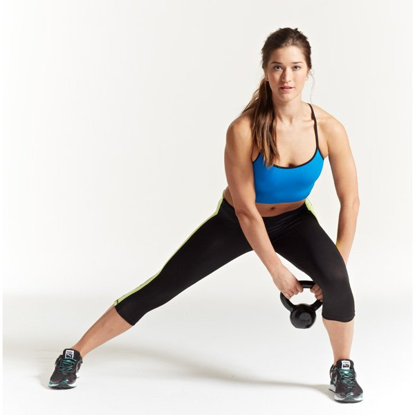 Exercise Kettlebell Figure Eight: Quick And Effective Kettlebell Workouts For Women