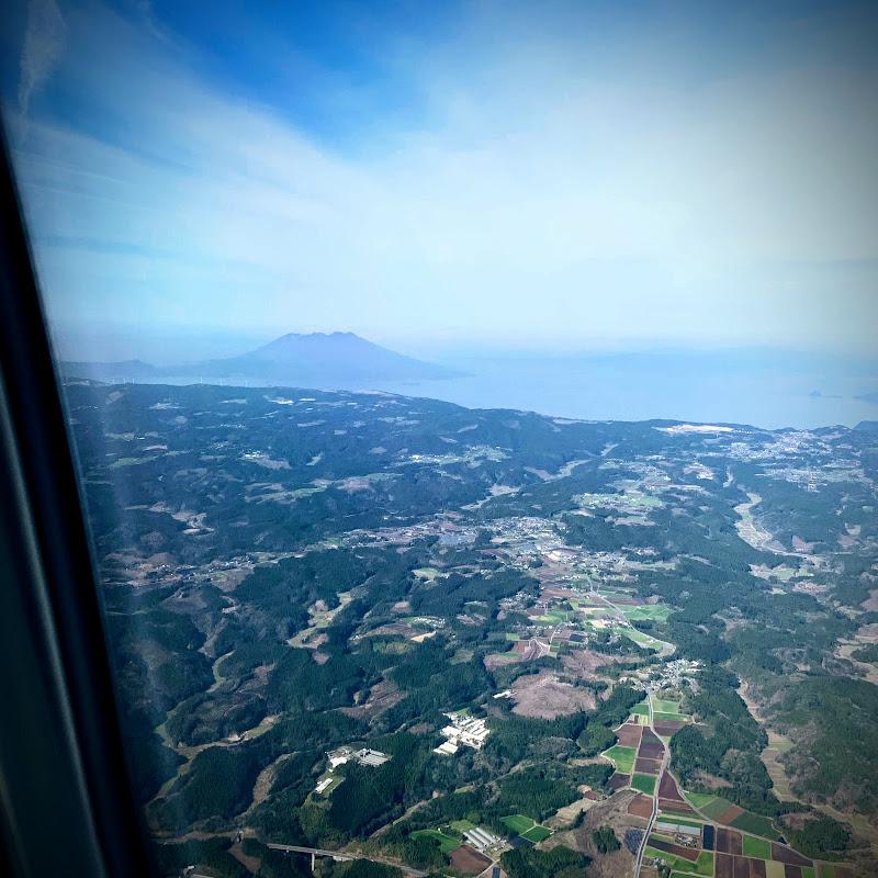 桜島 | 3レグ 羽田→鹿児島 / JL0643【2019年の搭乗メモ】