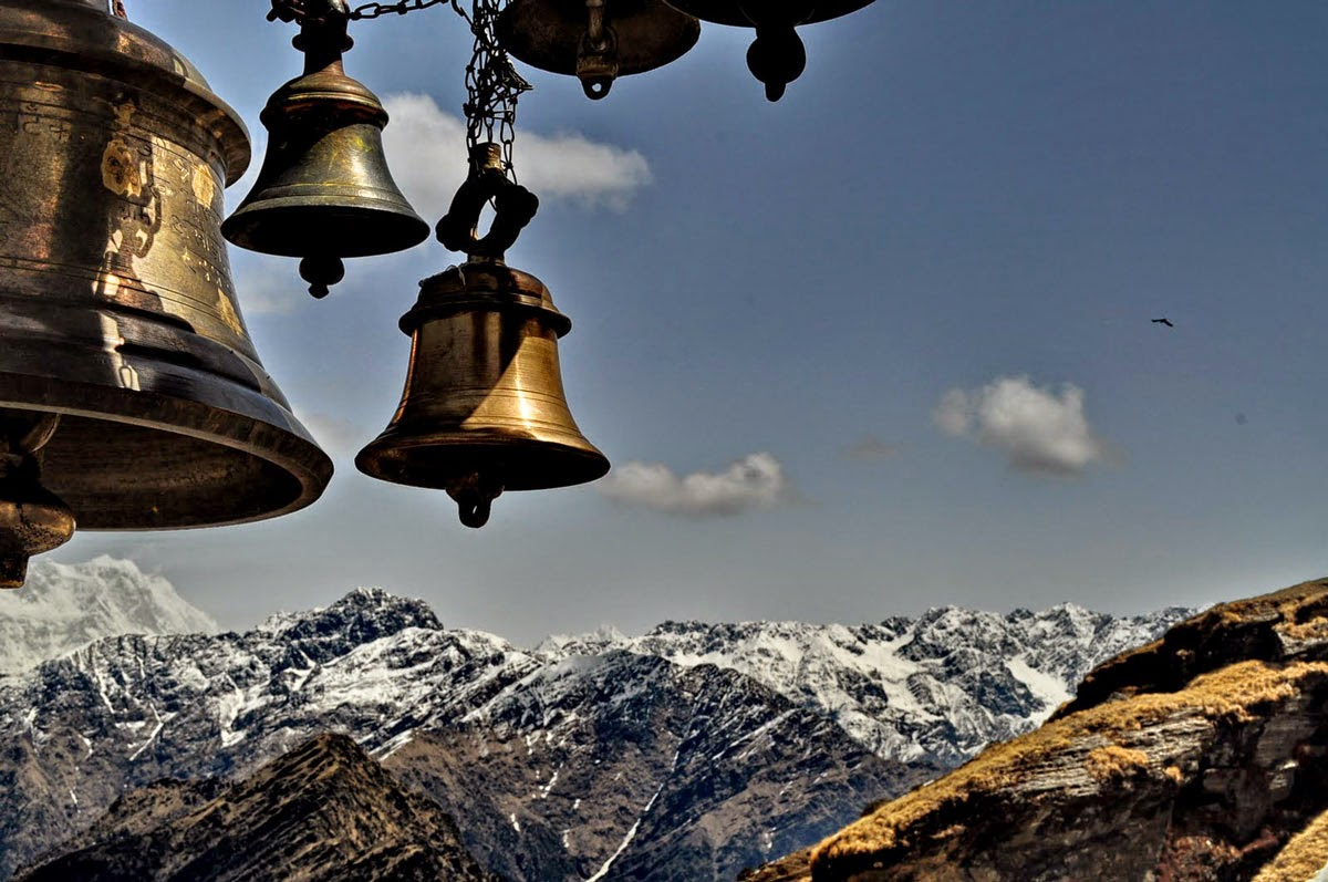Mighty Himalayan Peaks from Tungnath