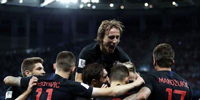Highlight Argentina 0-3 Kroasia, 21 Juni 2018