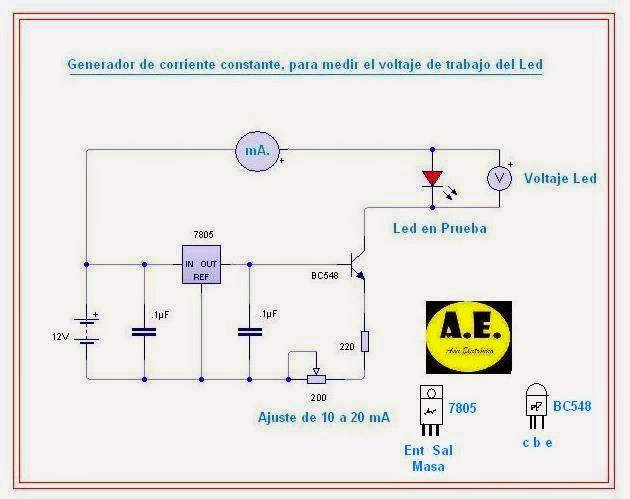 As n electr nica generador corriente constante para medir - Generador de corriente ...