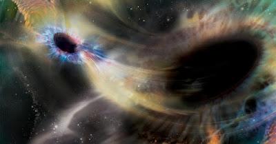 Nuovo segnale onde gravitazionali: collisione mini buchi neri