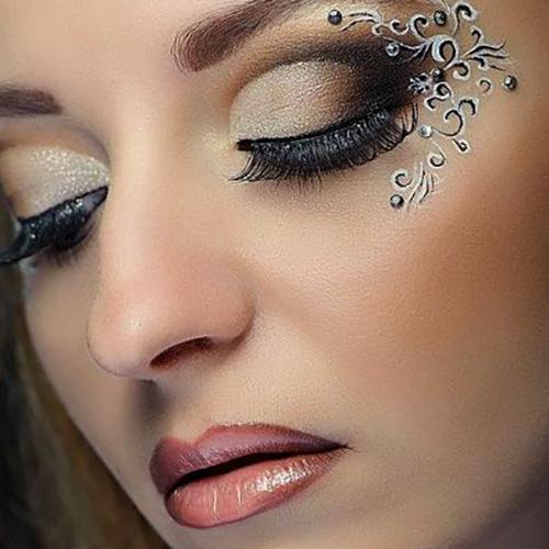 Maquillaje de fantasía para Nochevieja