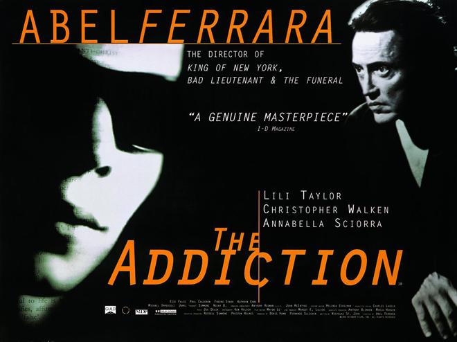 Póster de The Addiction de Abel Ferrara