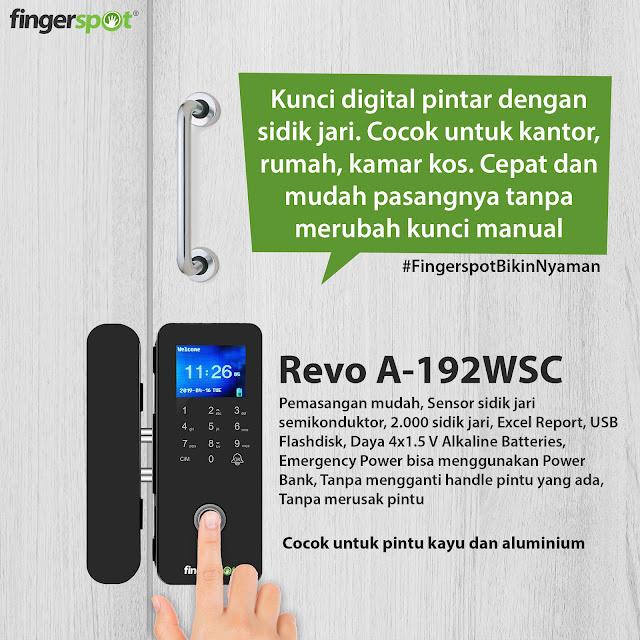 Smart Digital Lock Revo A 192WSC