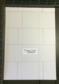 Nigezza Creates with Stampin Up hinge gift box template