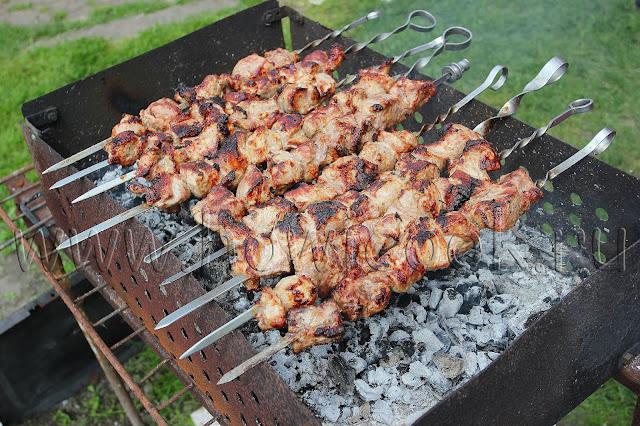 рецепт шашлыка из свинины с абхазской приправой с пошаговыми фото