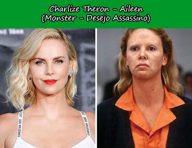 Charlize Theron - Aileen (Monster - Desejo Assassino)