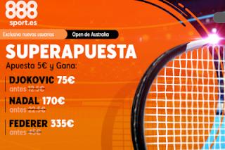 Superapuesta 888sport: Open Australia 20-1-2020