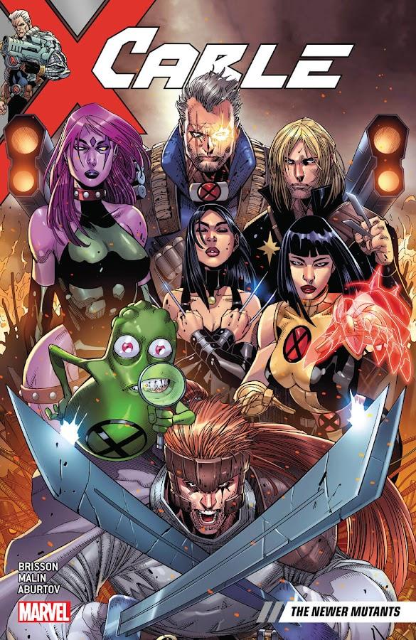 cable newer mutants marvel comics jon malin