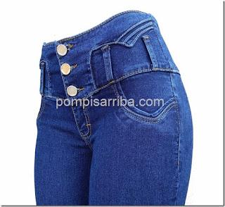 Pantalon de mezclilla corte colombiano Como comprar jeans levanta pompis