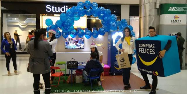 Alquiler de fotocabinas en centros comerciales la Gran Estación